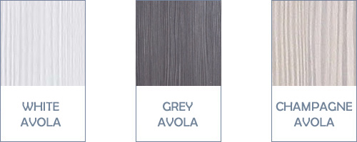 Avola Door and Drawer Finishes