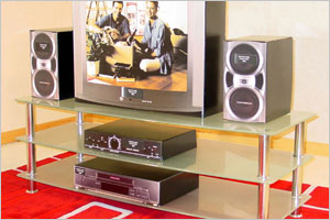 Glass TV and Media Units