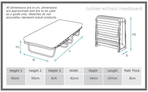 Jubilee Folding Guest Bed