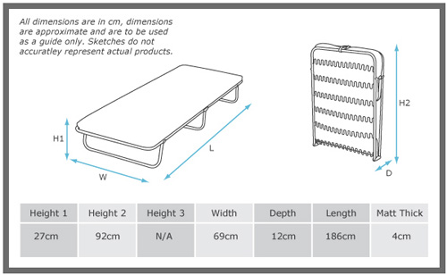 Popular Folding Guest Bed