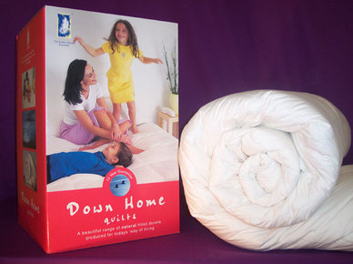 Down Home White Goose Down - 10.5 Tog
