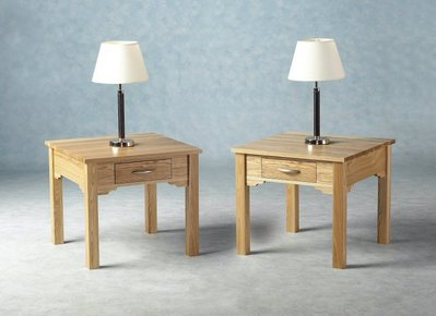 Dynasty One Drawer Lamp Table