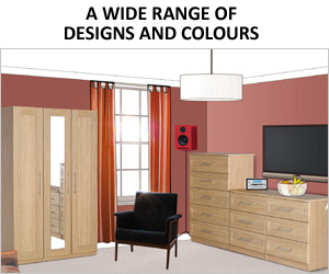 Visualise Andante Bedroom Furniture