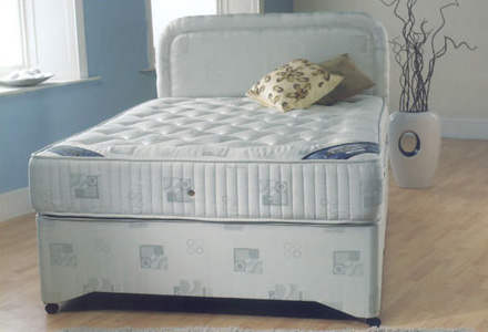 Opal orthopaedic divan beds furniture beds uk for The range divan beds