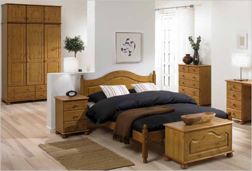 richmond antique pine bedroom set