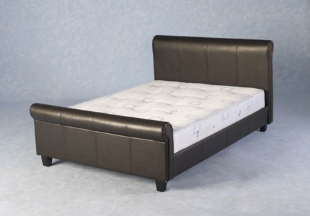 Toscano Faux Leather Bed from