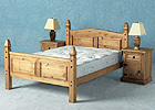 Corona Kingsize Mexican Bed