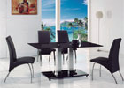 Medium Back G614 Chairs - Shown With a Jet Table