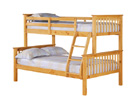 Otto 4 Foot Triple Sleeper Bunk Bed - Pine