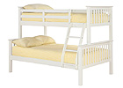 Otto 4 Foot Triple Sleeper Bunk Bed - White