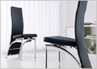 G501 Chairs - Framless Tall Back Chairs - 4 or 6