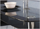 Harlequin Glass Top Dining Set