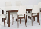Strata Dining Set with Six Chairs