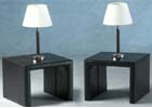 Luxor Expresso Brown Lamp Table