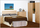The Complete Mode Oak Finish Bedroom Range