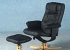 Premier Recliner Chair with Footstool