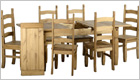 Corona Extending Dining Set - Removable Panel