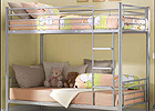 Tommi 3 Foot Metal Bunk Bed