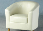 Cream Tempo Tub Chair