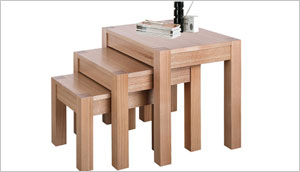 Wood Nest of Tables