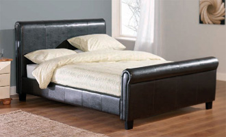King Size Faux Leather Beds