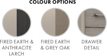 Burford Bedroom Furniture Range Colour Options