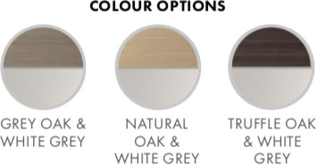 Derwent Bedroom Furniture Range Colour Options