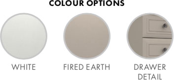 Hadleigh Bedroom Furniture Range Colour Options