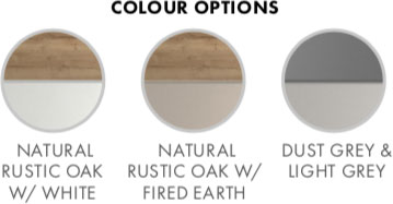 Skye Bedroom Furniture Range Colour Options
