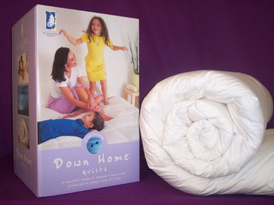 Down Home White Goose Feather & Down - 10.5 Tog