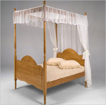 Veneza Single Four Poster Bed