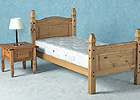 Corona Single Mexican Bed