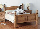 Corona Kingsize Mexican Bed Room Setting