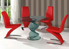 Cordoba Dining Table with 4 Ankara Z Chairs