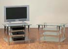 Astra Frosted TV Unit
