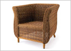 Jamica Armchair with Removable Cushion