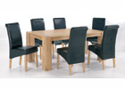 Nordic Dining Table Plus Six Dining Chairs