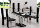 Mani Extending Set with G601 Thin Framed Tall Back Chairs