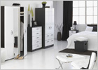 The Complete Mode Piano Bedroom Furniture Range