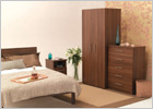 The Complete Mode Tobacco Walnut Bedroom Range
