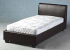 Palermo Single Faux Leather Bed