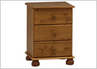 Richmond Antique Pine Bedroom Set