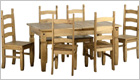 Corona Extending Dining Set - Closed