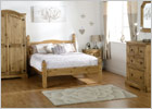 Corona Trio Bedroom Set - Room Setting