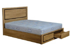 Charles 4 Foot 6 Bed with Drawers