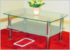 Togo Glass Coffee Table